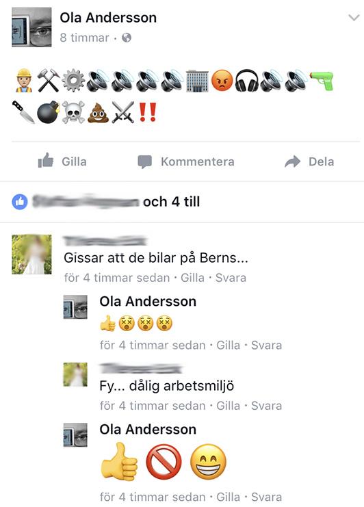 Skärmdump från Facebook-konversation 7